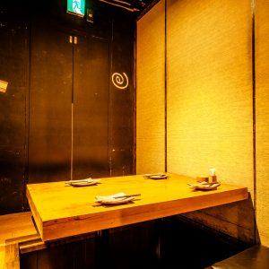 少人数の飲み会も「鶏豚きっちん 渋谷道玄坂店」。4名様までの個室あり。